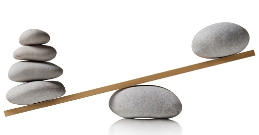 Balancing rocks - Educators Asset Rebalancing